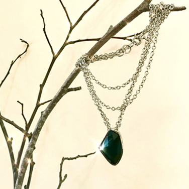 San Anselmo crystal pendant necklace